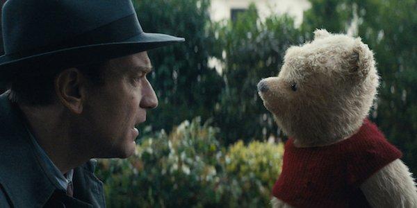 Christopher Robin Ewan McGregor Staring At Winnie The Pooh
