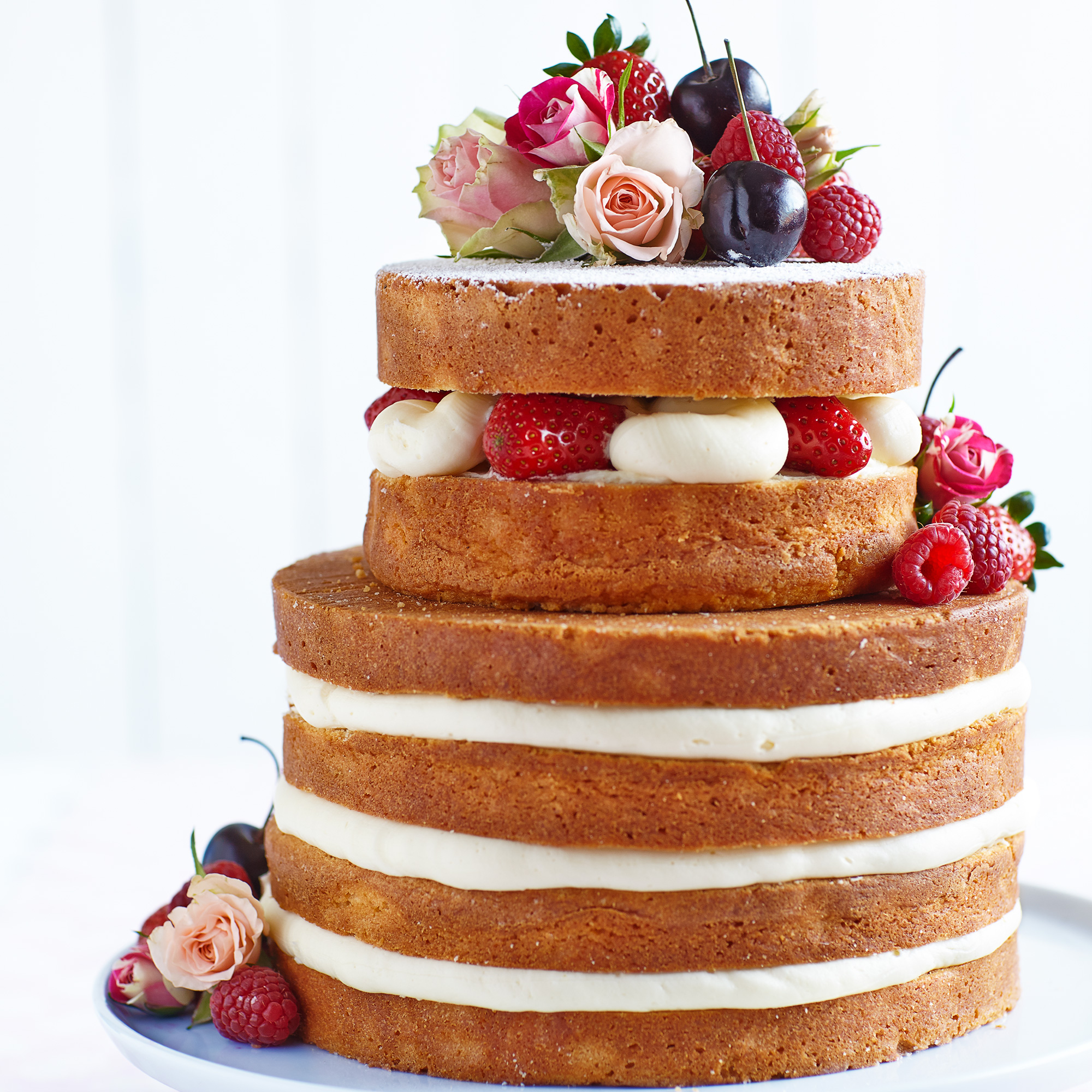 Wedding Cake Recipe.Wedding Cake Recipes Woman Home