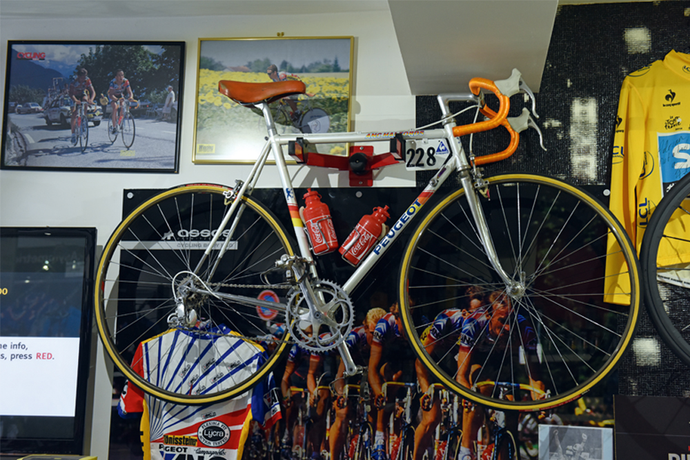 pro bike: adrian timmis's 1987 tour de france peugeot - cycling weekly