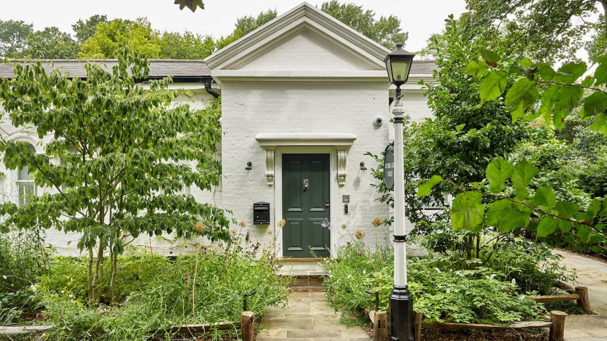 Don't be fooled by this Georgian lodge's low-key exterior – it conceals a wild, maximalist teenage den