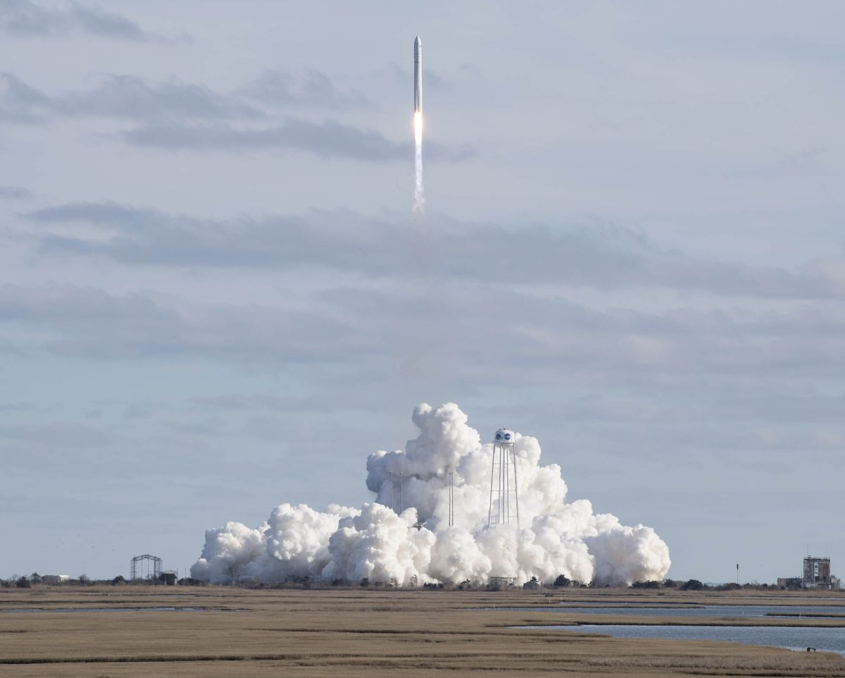 Northrop Grumman launches Cygnus cargo ship to space station for NASA - Space.com