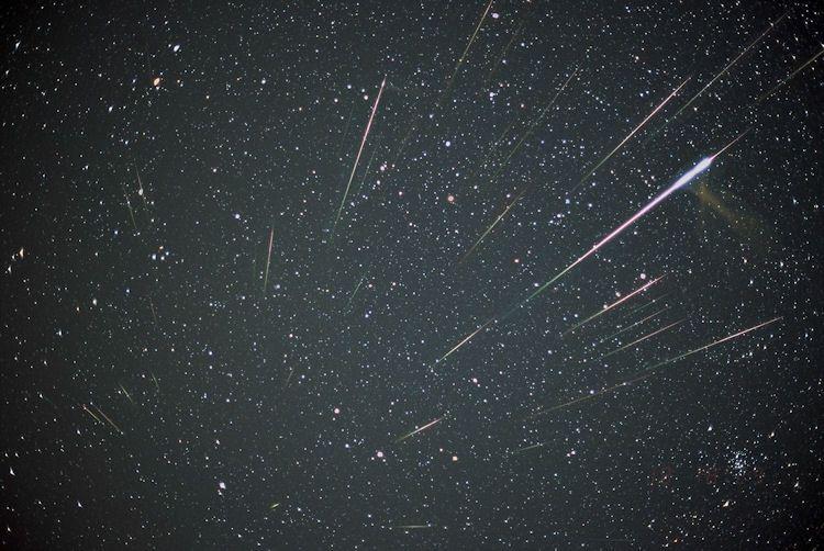 Meteor shower tonight nj