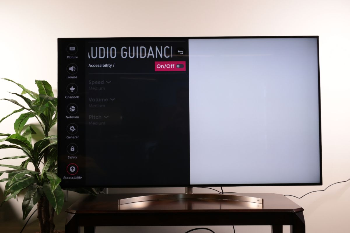 How to find the Audio Guidance feature on your LG TV - LG TV