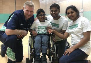 Matthew Hoggard, Pranav,Ravi and Usha Save My Child