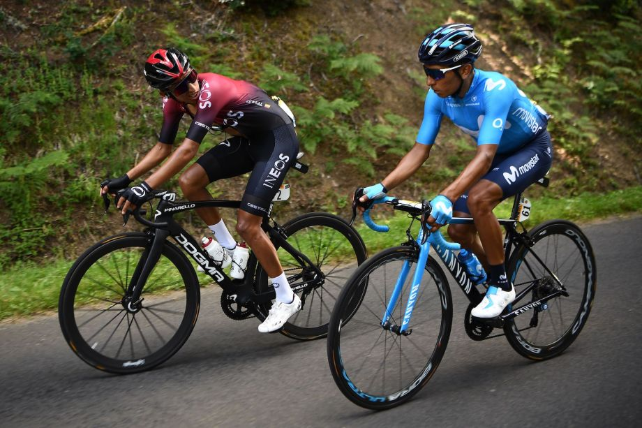 Nairo Quintana on Movistar's Tour so far: 'We're lucky to have lost as little time as we have'