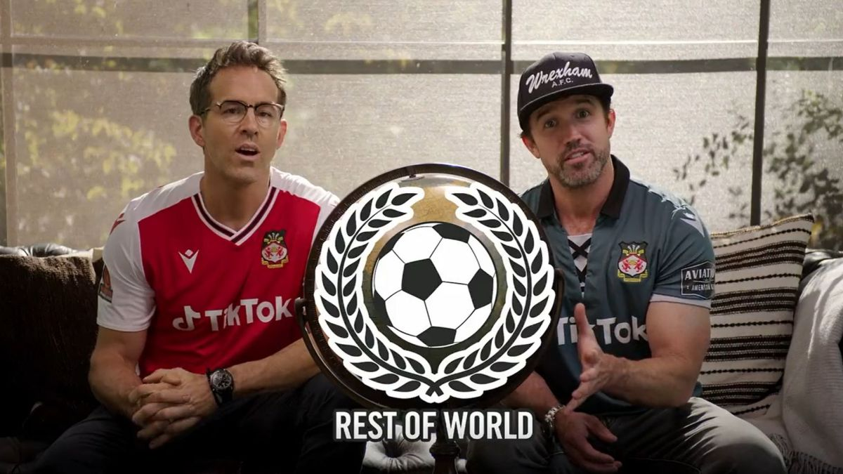 Ryan Reynolds and Rob McElhenney are mad about where Wrexham is in FIFA 22
