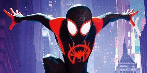 spider-man: into the spider-verse miles morales black costume