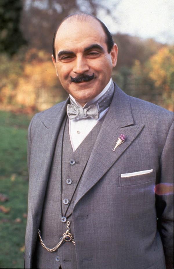 David Suchet as Poirot