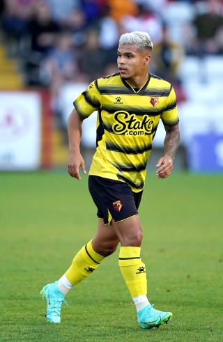Cucho Hernandez has yet to make his competitive Watford debut despite joining the club four years ago.