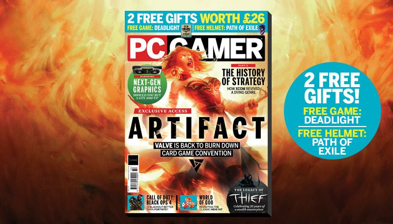 PC Gamer UK Christmas issue: Artifact