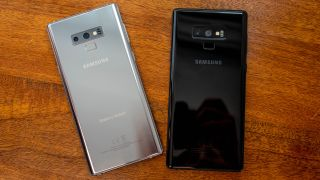Samsung Galaxy Note 9 Silver.