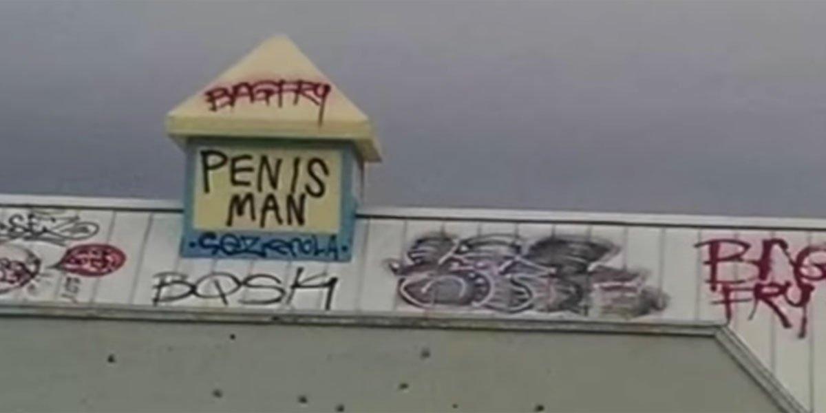 Penis Man local news segment screenshot