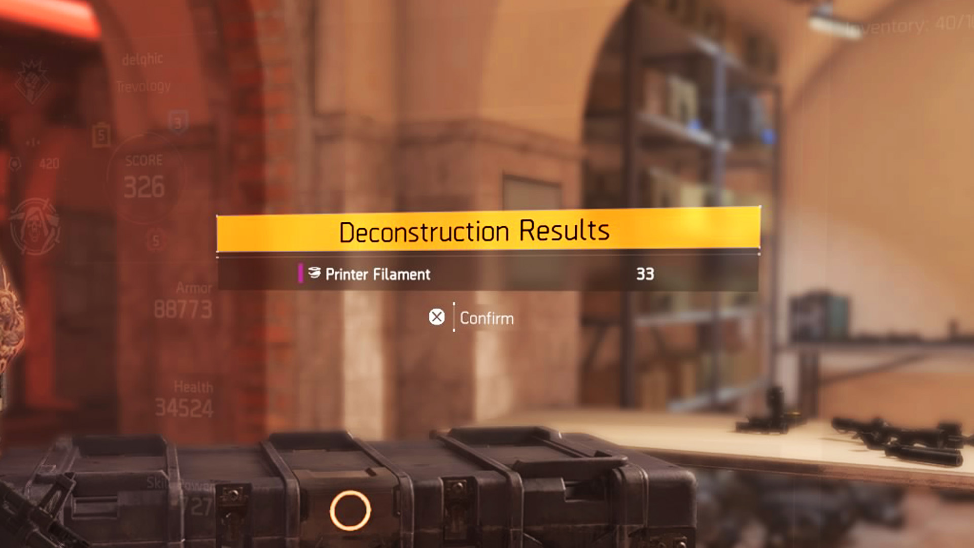 The Division 2 Printer Filament: What is it, where to find it and