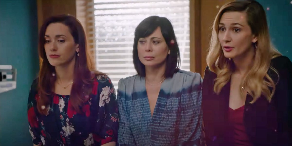 Abigail, Cassie and Joy on Good Witch