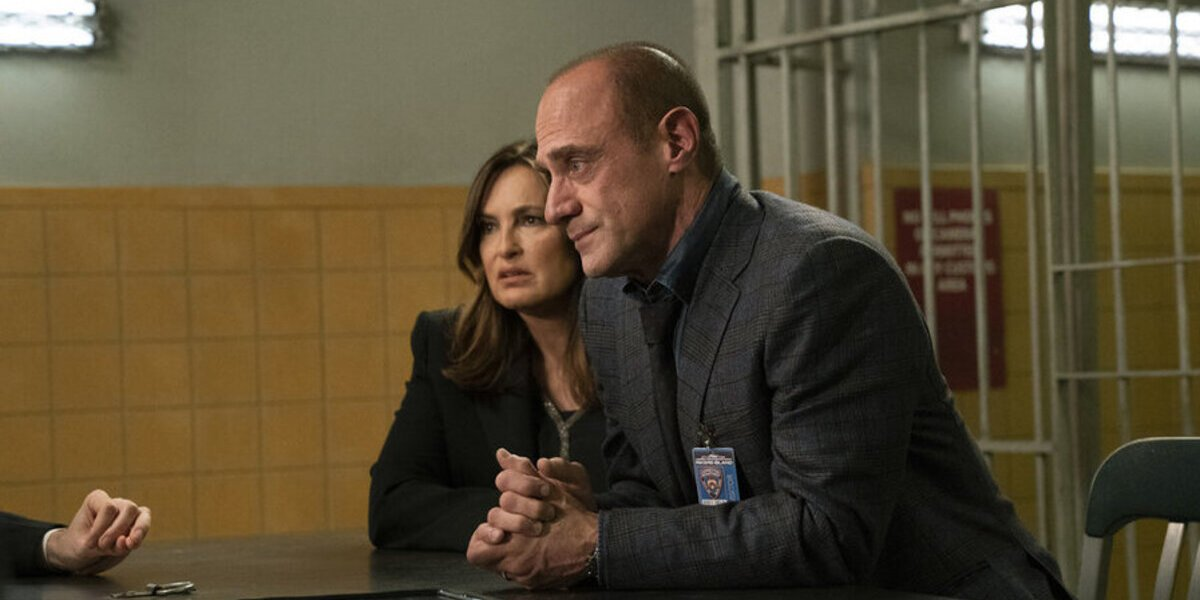 law and order svu season 22 benson and stabler crossover interrogation room