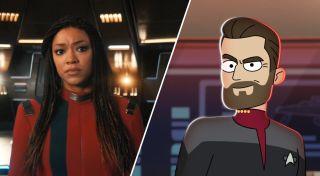 Season 4 of Star Trek: Discovery and season 2 of Star Trek: Lower Decks warp back onto Paramount+ in 2021.