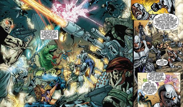 DC Comics The Phantom Limbs Cyborg