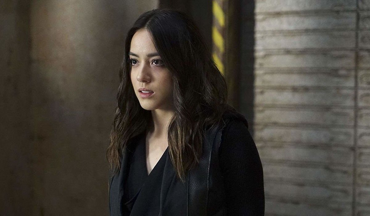 Chloe Bennet as Daisy Johnson in Agents of S.H.I.E.L.D.