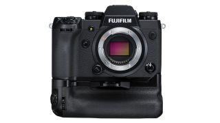 Fujifilm X-H1 with VPB-XH1 vertical grip