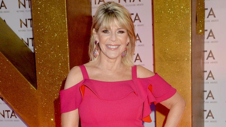 Ruth Langsford autumn outfit dorothy perkins skirt deal