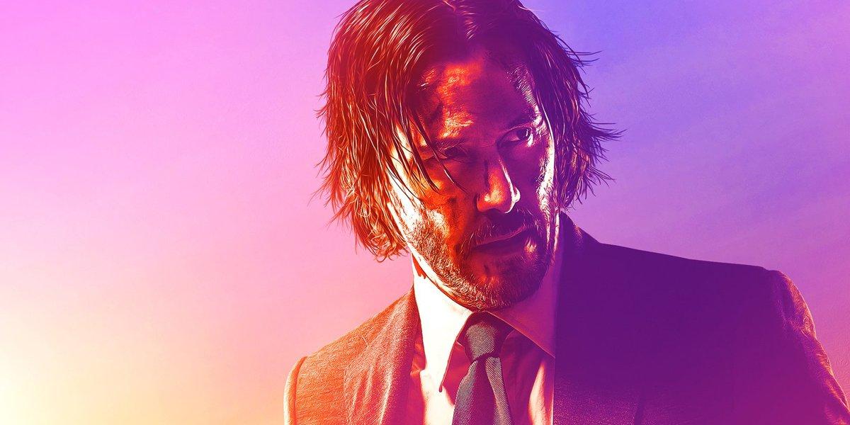 Keanu Reeves as John Wick in John Wick Chapter 3 Parabellum poster