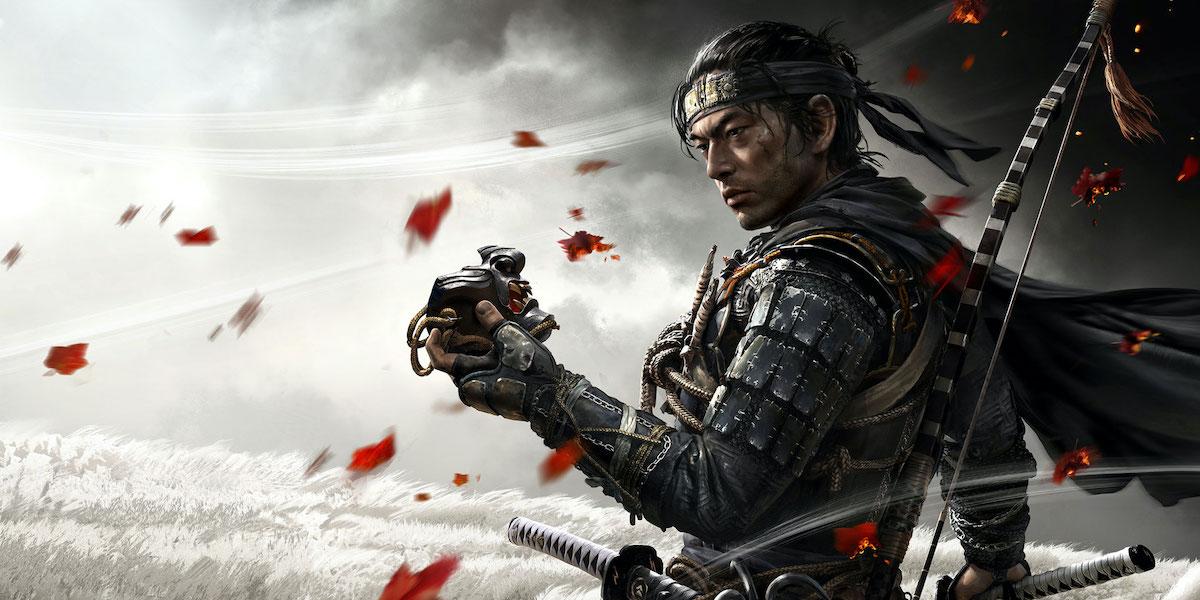 Jin Sakai in Ghosts of Tsushima