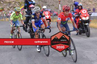 Nairo Quintana Alberto Contador 2016 Vuelta a Espana