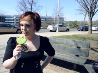 woman, ice-cream, overeating, indulging