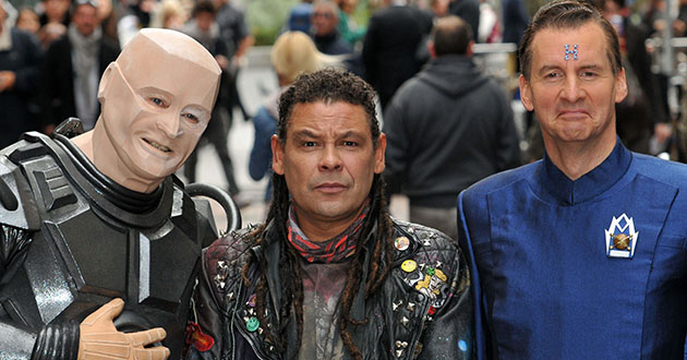 Red Dwarf X photocall, London, Britain - 03 Oct 2012