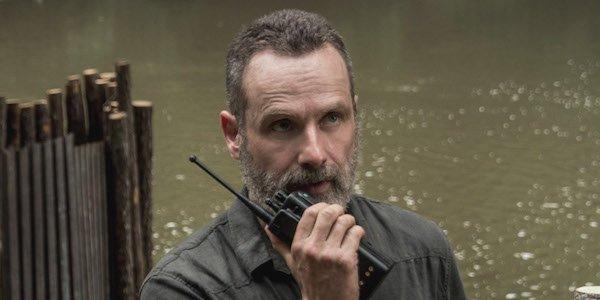rick grimes on radio walking dead season 9