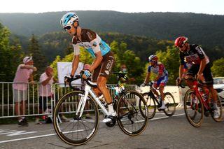 AG2R La Mondiale's Alexis Vuillermoz on stage 16 of the 2020 Tour de France