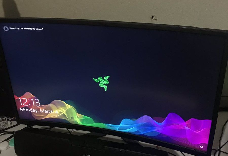 Image result for This gaming monitor literally stopped a stray bullet (and still works)