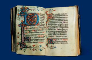 King Richard III's Book of Hours - book cover.
