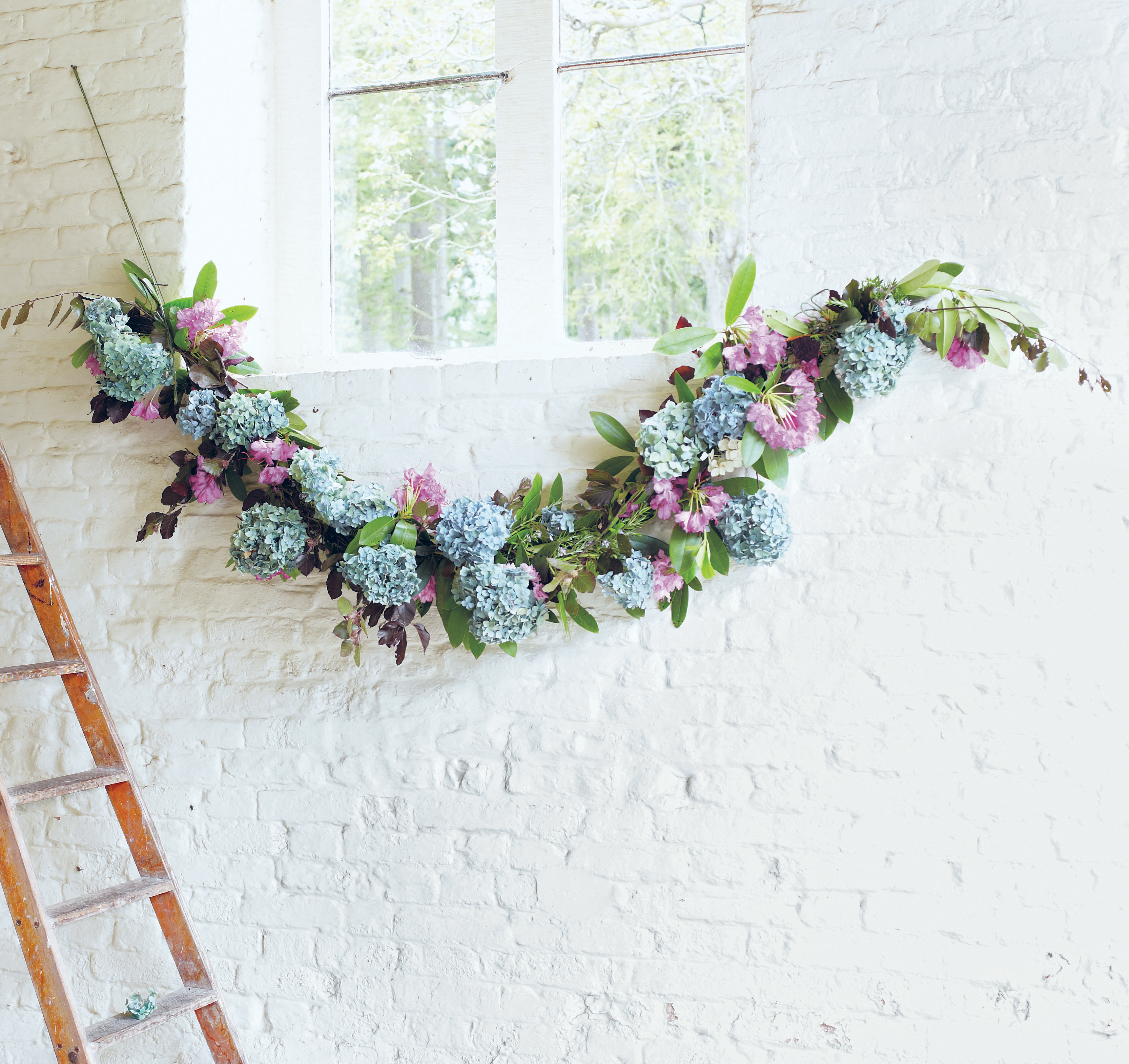 How To Make A Flower Garland Real Homes