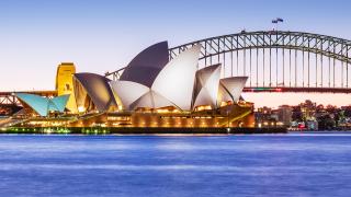 Image of the Sydney Opera House.