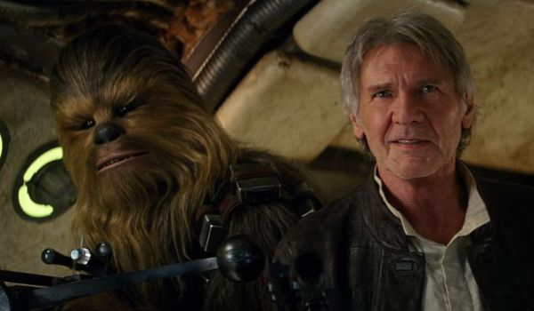 chewbacca and han solo The Force Awakens