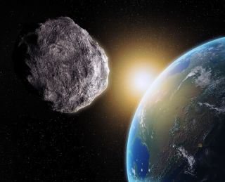 Asteroid Threatens Earth