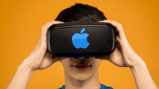 Apple VR headset mockup