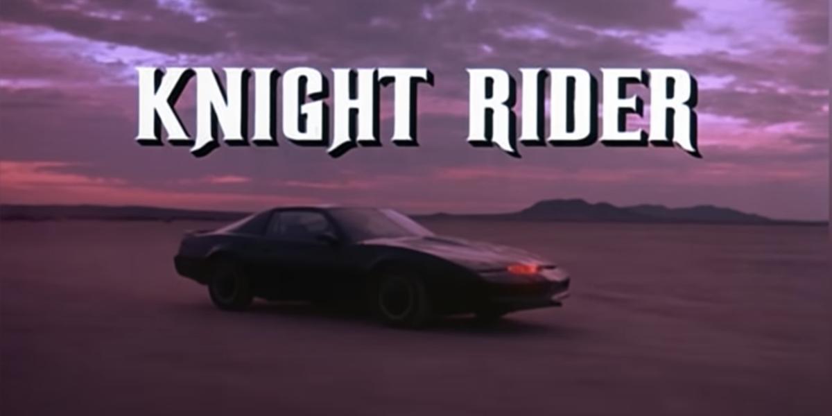 knight rider opening credits screenshot