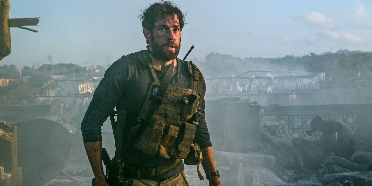 John Krasinski as Jack Ryan in Tom Clancy's Jack Ryan.