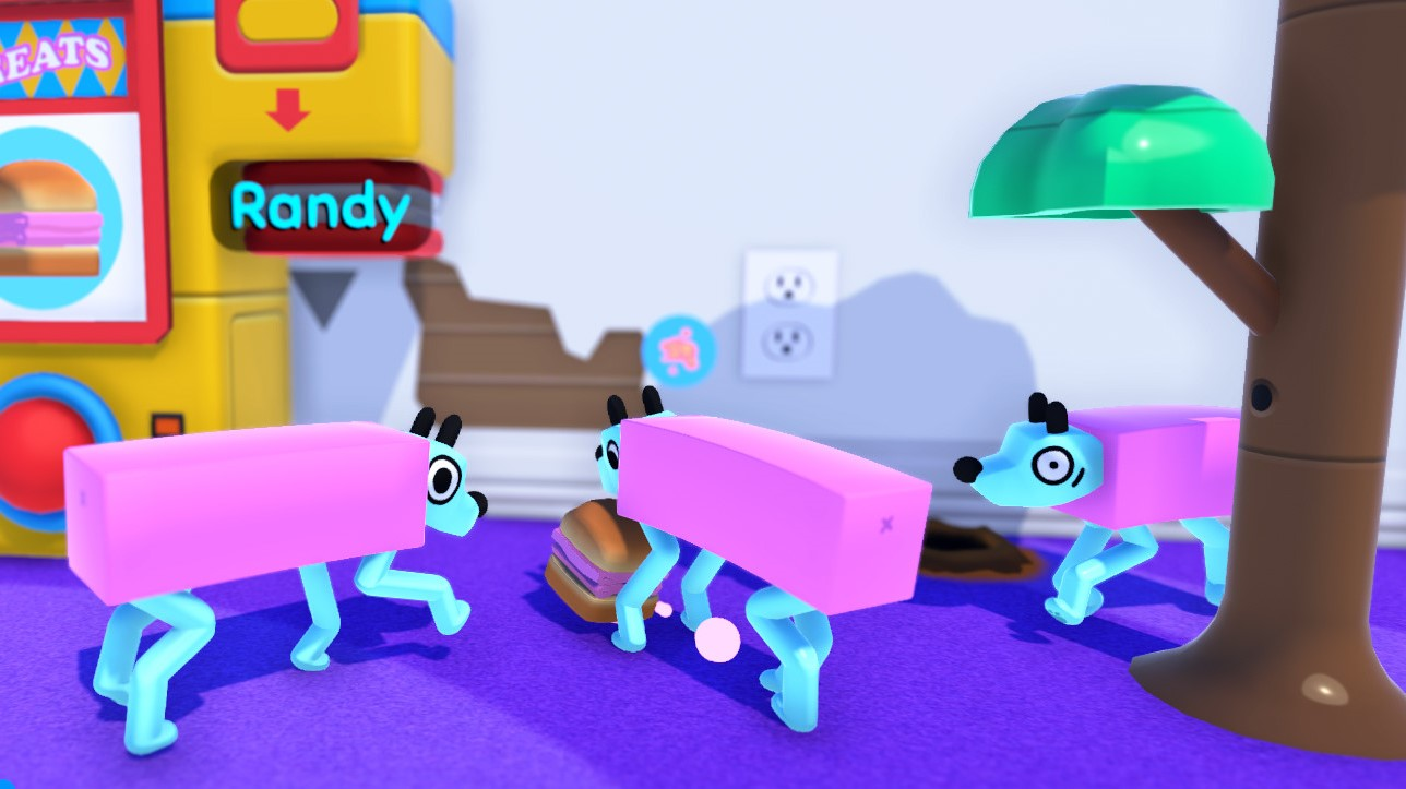 Breed a mob of mutating pups in strange virtual pet sim Wobbledogs