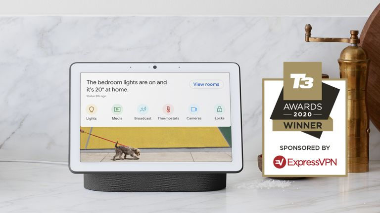 T3 Awards 2020 Google Nest Hub Max Best Smart Speaker