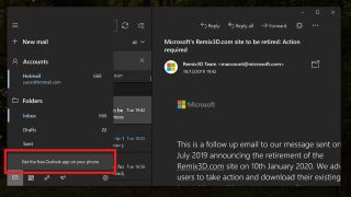 Microsoft inserts ads into Mail and Calendar Windows apps
