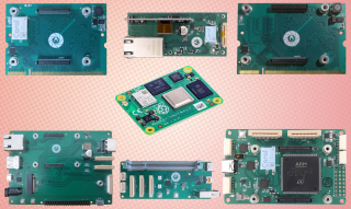Selection of Gumstix boards for the Raspberry Pi Compute Module 4