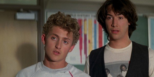 Alex Winter, Keanu Reeves - Bill & Ted's Excellent Adventure