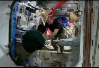 Astronauts Prepare for Holiday Spacewalks