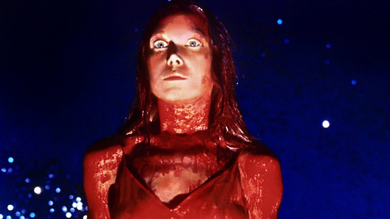 Sissy Spacek as Carrie in Carrie.