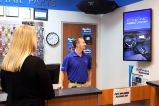Harris DOOH Network Powers Automotive Broadcasting Network