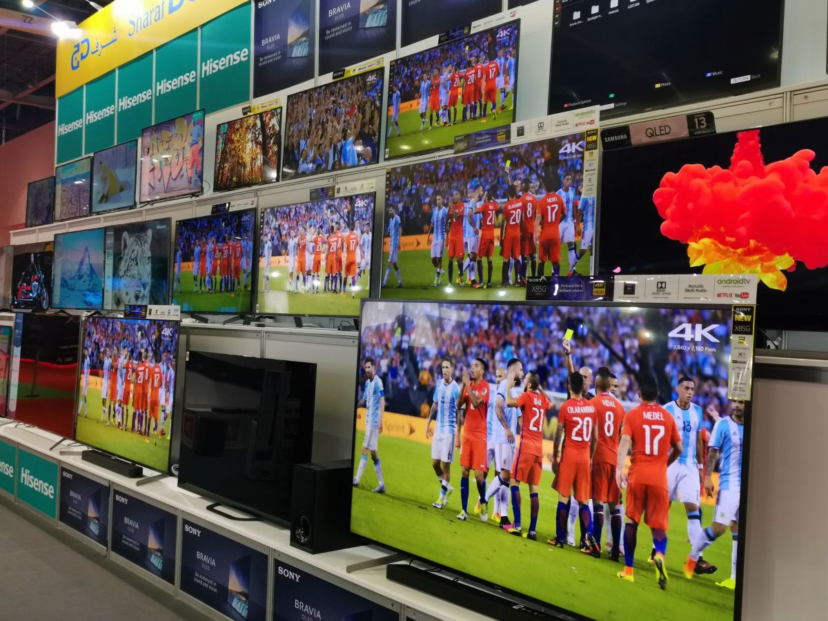 Second-hand TV sales are huge and growing faster than first-hand in UAE
