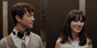 Tom and Summer in the elevator
